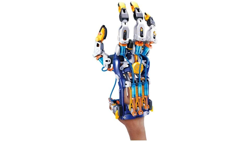Letting them turn themselves into a cyborg is a pretty cool holiday surprise!