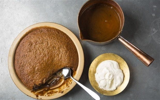 Sticky toffee pudding - Andrew Crowley