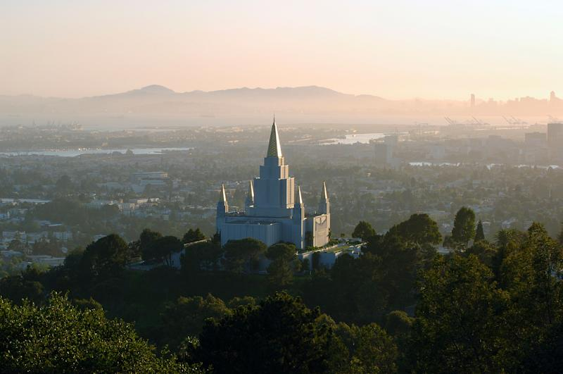 Oakland, California Temple, the 15th temple built by the Church of Jesus Christ of Latter-day Saints.