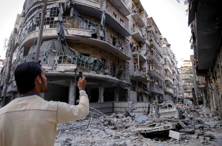 Citizen journalists have used cell phones and social media to document protests and abuses since Syria's uprising began in 2011, as well as jihadist atrocities in Raqa since 2014