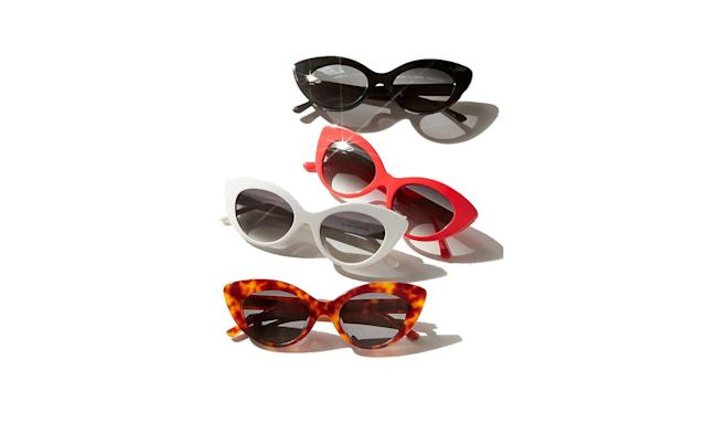 "<p>The Wild Gift sunglasses, $79, <a href=""https://www.urbanoutfitters.com/shop/crap-eyewear-the-wild-gift-sunglasses?category=womens-sunglasses&color=060"" rel=""nofollow noopener"" target=""_blank"" data-ylk=""slk:urbanoutfitters.com"" class=""link rapid-noclick-resp"">urbanoutfitters.com</a> </p>"