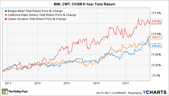 BMI Total Return Price Chart