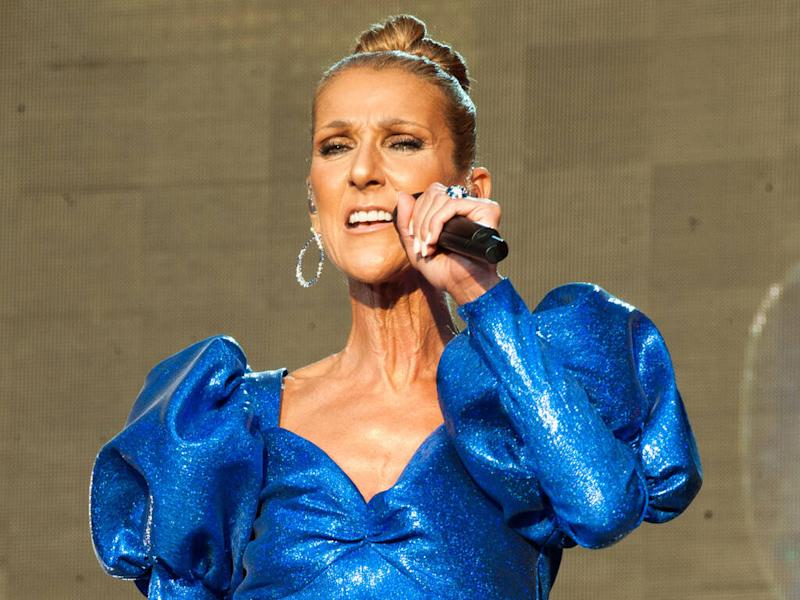 Celine Dion is 'doing okay' following her mum's death