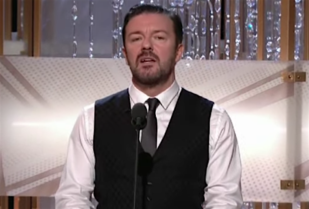 Ricky Gervais reveals the one Golden Globes celebrity joke he regrets