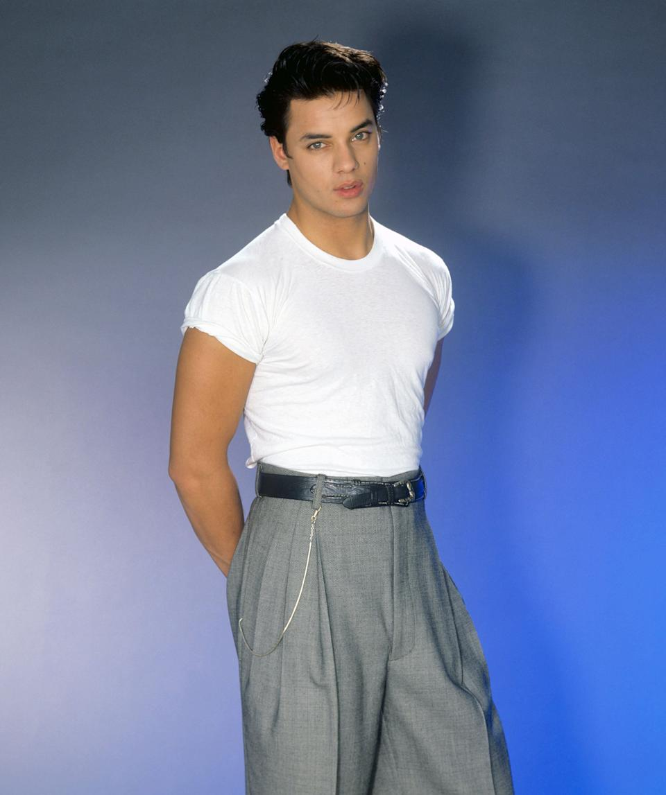 Nick Kamen pictured in 1986. (Photo: picture alliance via Getty Images)