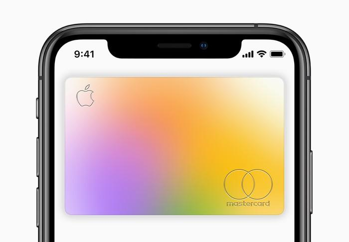 Apple Credit Card on an iPhone.