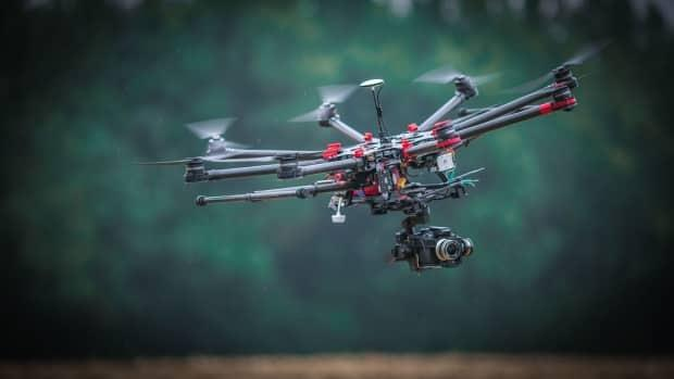 Drones can cause serious and potentially deadly collisions with wildfire fighting aircraft.  (Digital Timber web page - image credit)