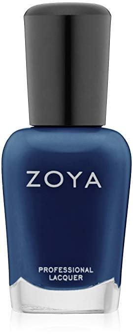 <p>Try switching up your manicures with a midnight-blue shade like <span>Zoya Nail Polish in Sailor</span> ($10).</p>