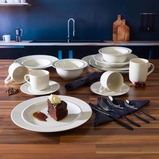 "<p><strong><a class=""body-btn-link"" href=""https://www.ryman.co.uk/alessi-38-piece-dinnerware-and-cutlery-set"" target=""_blank"">SHOP NOW</a> </strong>£59.99</p><p>Just <a href=""https://www.housebeautiful.com/uk/lifestyle/property/a29760561/moving-house-checklist/"" target=""_blank"">moved house</a>? Kit out your new home with this essential porcelain dinnerware and stainless steel cutlery set, perfect for your family and any guests that pop over. This set by famed Italian brand Alessi features a minimal and classic design. </p>"