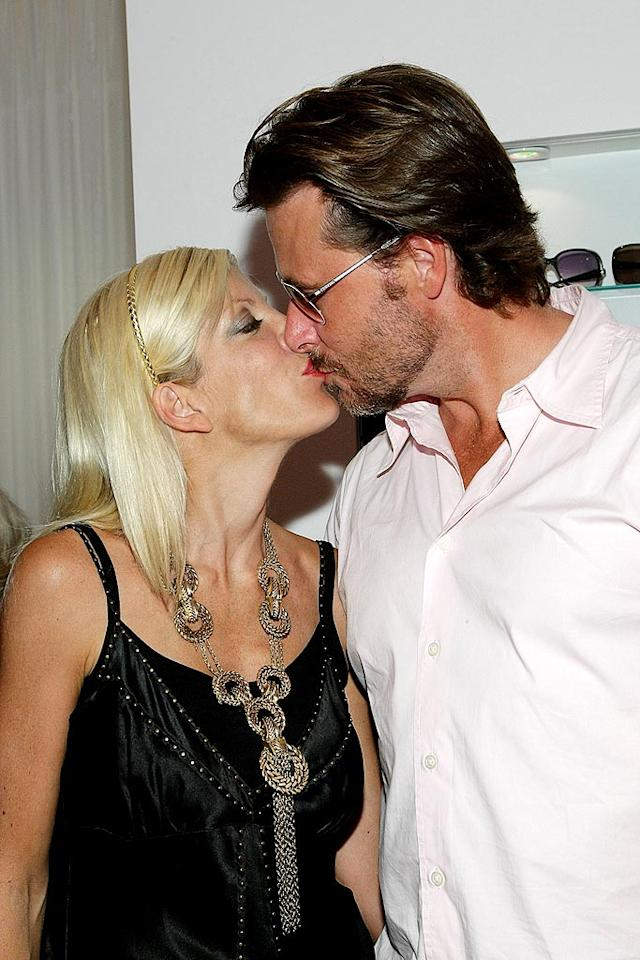 """<i>Life & Style</i> reported that reality sweethearts Tori Spelling and Dean McDermott are staying married solely for the money. """"They have problems,"""" wrote the tab, which claimed """"neither Tori nor Dean has much money"""" and can afford to break up and risk losing their lucrative TV show. According to <i>Life & Style</i>, Spelling will stay in the marriage """"even if she's unhappy,"""" just to """"sell her family as a brand."""" Read <a href=""""http://www.gossipcop.com/mag-continues-classless-campaign-against-tori-spelling-and-dean-mcdermott/"""" target=""""new"""">Gossip Cop</a> to see whether we buy this. Noel Vasquez/<a href=""""http://www.wireimage.com"""" target=""""new"""">WireImage.com</a> - August 12, 2009"""