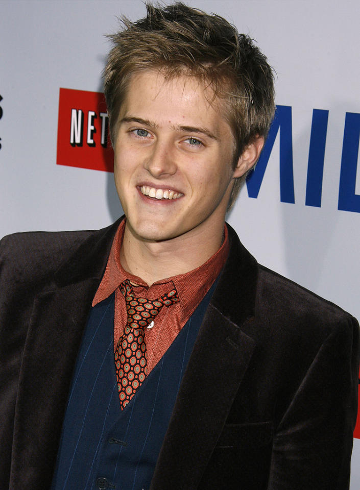 """<a href=""""http://movies.yahoo.com/movie/contributor/1809781774"""">Lucas Grabeel</a> at the Los Angeles premiere of <a href=""""http://movies.yahoo.com/movie/1810041985/info"""">Milk</a> - 11/13/2008"""