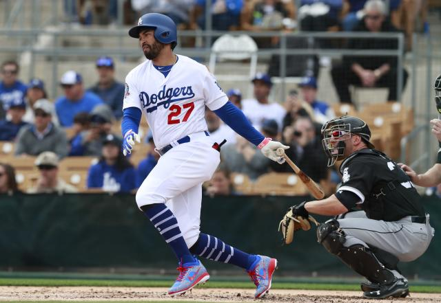 Matt Kemp looks young again with the Dodgers. (AP Photo)