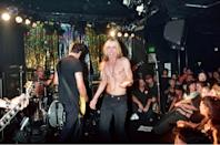 <p>Steve Jones and Iggy Pop performing with Neurotic Outsiders at the Viper Room on September 26, 1995.</p>