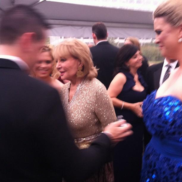 Barbara Walters, being fabulous. #WHCD