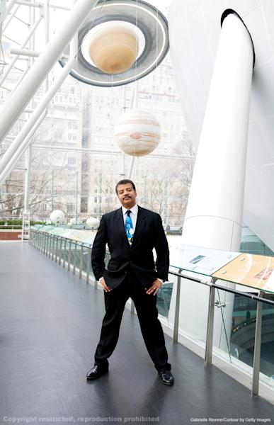 "Astrophysicist Neil deGrasse Tyson was named one of the 25 most influential people in space in the new book ""New Frontiers of Space."" Image uploaded on July 25, 2013."