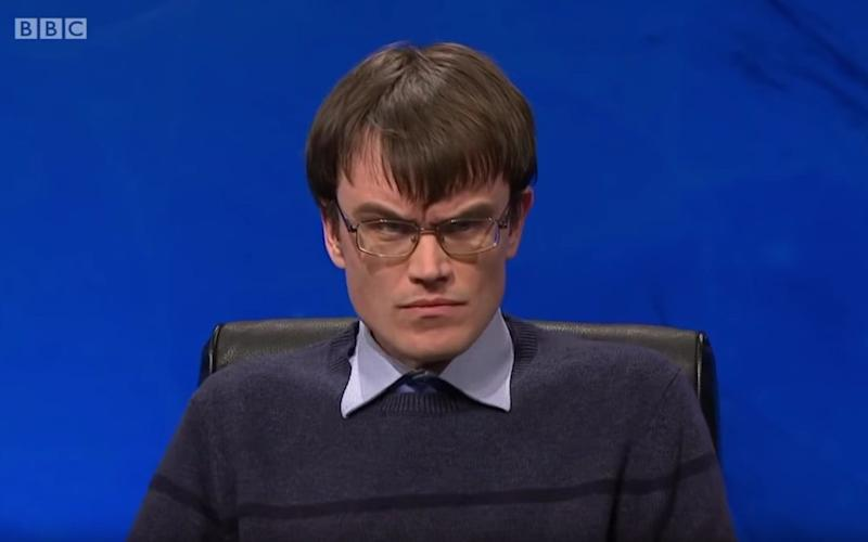 Eric Monkman made a valiant bid for the University Challenge trophy but Wolfson lost to Balliol College, Oxford - BBC