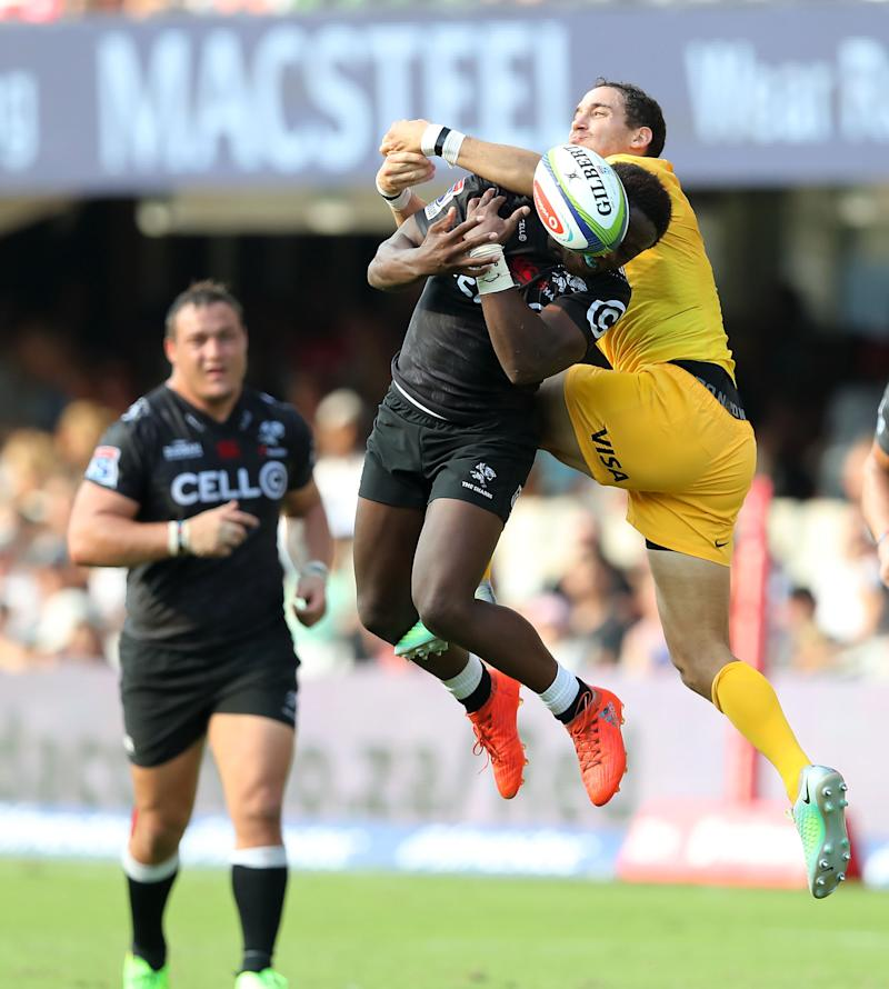 Rugby Union - Sharks edge Jaguares in error-filled clash