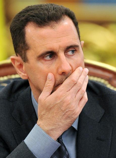 <p>Syrian president Bashar al-Assad</p> (Getty Images)