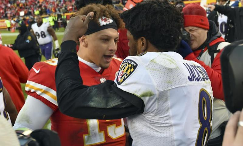 Patrick Mahomes now has 41 touchdown passes for the season