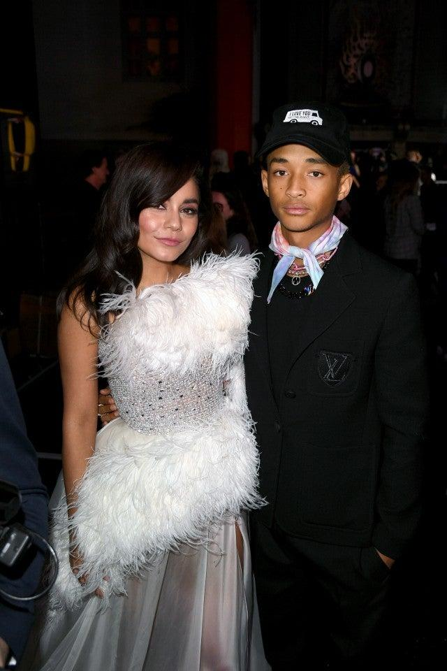 Vanessa Hudgens and Jaden Smith