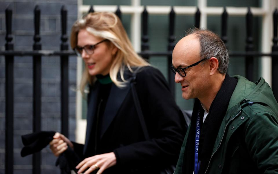 Dominic Cummings, special advisor to Boris Johnson, arrives at Downing Street in London - Reuters