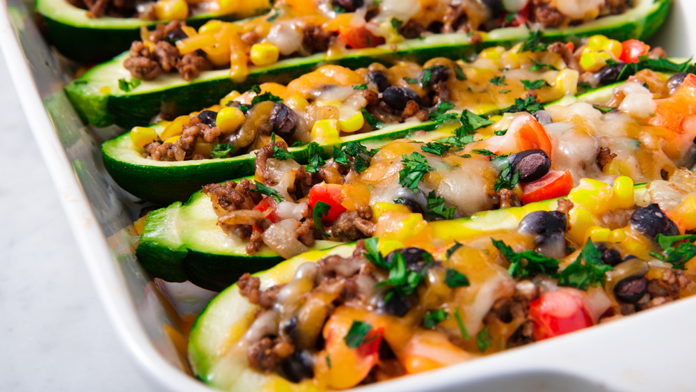 """<p>Giving up Mexican food just isn't in the cards, so when you're cutting carbs or just trying to add more veggies to your diet, these healthier recipes are here to help you out. Keto fans, we've got a few just for you, too. Looking for more healthy eats? Try our <a href=""""/cooking/g1865/healthy-comfort-food/"""">lightened up comfort foods</a>.</p>"""