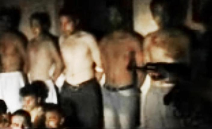 This image made from amateur video released by the Ugarit News and accessed Monday, Aug. 13, 2012, purports to show Syrian government forces who were captured at a checkpoint by Free Syrian Army soldiers, unseen, in the eastern province of Deir el-Zour, Syria. (AP Photo/Ugarit News via AP video) THE ASSOCIATED PRESS IS UNABLE TO INDEPENDENTLY VERIFY THE AUTHENTICITY, CONTENT, LOCATION OR DATE OF THIS HANDOUT PHOTO