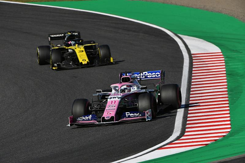 Renault protested over alleged brake bias breach