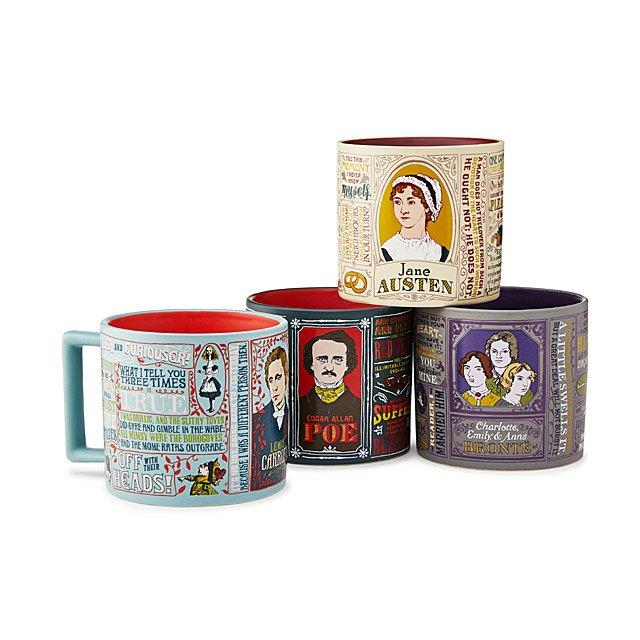 Literary mugs. (Photo: Uncommon Goods)