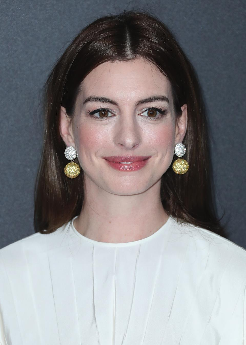 "<h3><strong><em>The Last Thing He Wanted </em></strong><br>TBA</h3><br><br>High-brow alert — Dee Rees of <em>Mudbound </em>directs this adaptation of a Joan Didion novel. Elena McMahon (Anne Hathaway) quits her job as a reporter covering the 1984 presidential election to care for her ailing father.<span class=""copyright"">Xavier Collin/PictureGroup/REX/Shutterstock</span>"