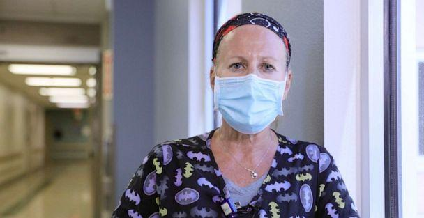 PHOTO: Robin Ringler, Charge Nurse, at University Medical Center of Southern Nevada's Intensive Care Unit. (University Medical Center of Southern Nevada)