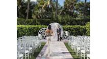 """<p>For fans of South Beach's energetic vibe and Art Deco style, <a href=""""https://www.marriott.com/hotels/event-planning/wedding-planning/miaws-w-south-beach/"""" rel=""""nofollow noopener"""" target=""""_blank"""" data-ylk=""""slk:W South Beach"""" class=""""link rapid-noclick-resp"""">W South Beach</a> is your wedding venue dream come true. More than 14,000 square feet of event space, both indoor and out, can be transformed into our ideal setting, and the hotel's culinary team can design custom menus to your taste. After the last dance, you and your wedding party can head straight into South Beach's humming nightlife.</p>"""