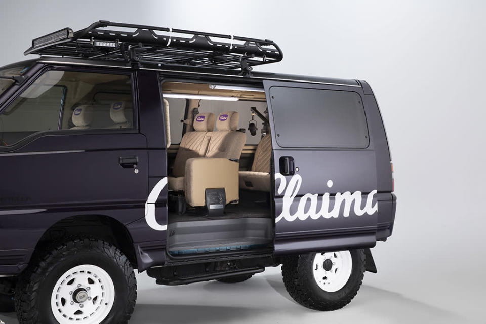 A look at the Claima Stories custom 1993 Mitsubishi Delica Starwagon. - Credit: Courtesy of Claima Stories