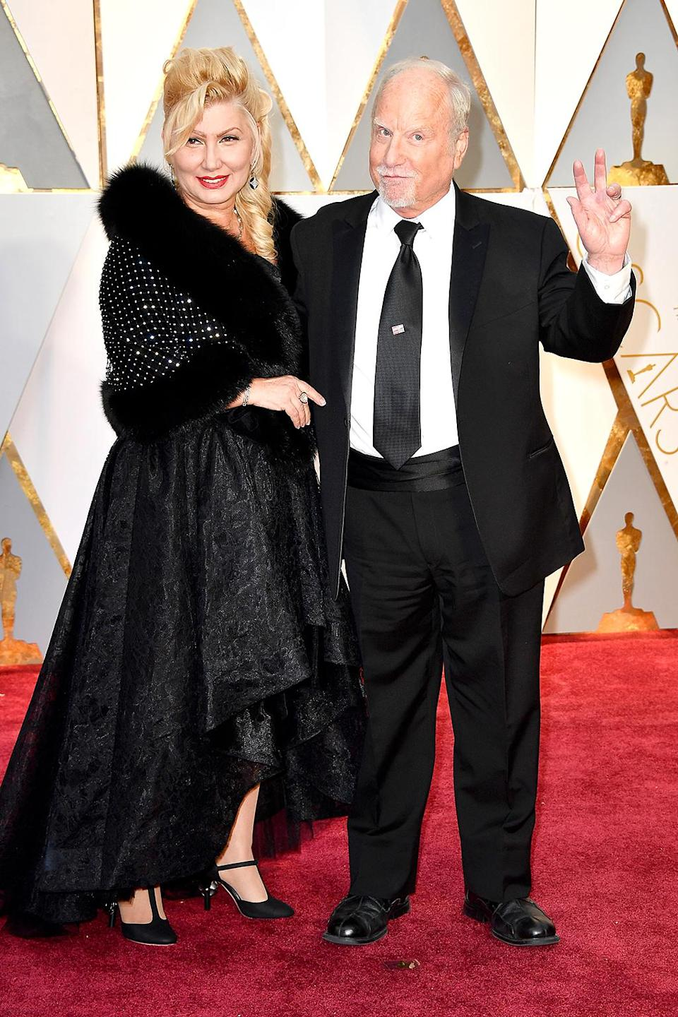 <p>Svetlana Erokhin and Richard Dreyfuss attend the 89th Annual Academy Awards at Hollywood & Highland Center on February 26, 2017 in Hollywood, California. (Photo by Frazer Harrison/Getty Images) </p>
