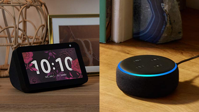 The Echo Dot and Echo Show 5 are on sale