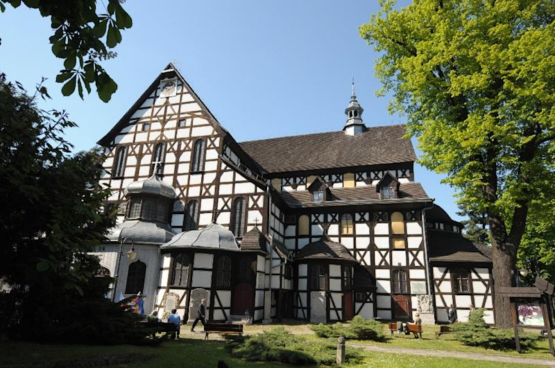 The Lutheran Church of Peace in Swidnica, Poland, seen in 2011, was built in the 17th century, after the Peace of Westphalia ended the Thirty Years' War and allowed Protestant churches to be built in Catholic areas in what was the Holy Roman Empire