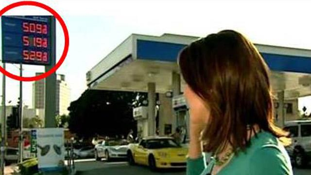 Price Shock: Watch Cost of Gas Jump 10 Cents During ABC's 'World News' Broadcast