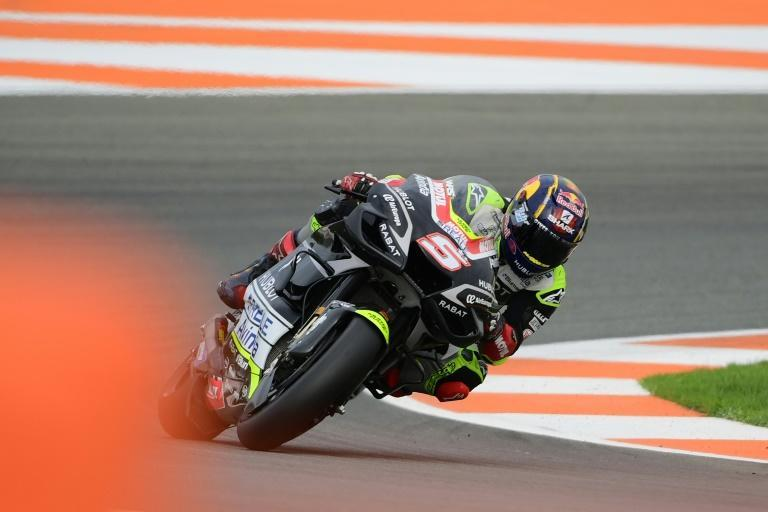 French rider Johann Zarco recorded the quickest time in practice ahead of the Portugal MotoGP on Sunday