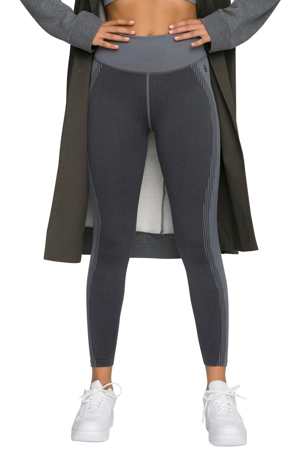 """<p><strong>GOOD AMERICAN</strong></p><p>nordstrom.com</p><p><strong>$47.40</strong></p><p><a href=""""https://go.redirectingat.com?id=74968X1596630&url=https%3A%2F%2Fwww.nordstrom.com%2Fs%2Fgood-american-contour-rib-seamless-leggings-regular-plus-size%2F6413373&sref=https%3A%2F%2Fwww.womenshealthmag.com%2Flife%2Fg36999215%2Fviral-tiktok-items-nordstrom-sale%2F"""" rel=""""nofollow noopener"""" target=""""_blank"""" data-ylk=""""slk:Shop Now"""" class=""""link rapid-noclick-resp"""">Shop Now</a></p><p>If you don't already own a pair of these butt-lifting leggings, you'll definitely recognize them from all the videos they've been in. Hundreds of thousands of TikTokers participated in a challenge filming their partners' live reaction to these for the first time. Needless to say, they were hilarious (and sexy!).</p><p>You can never have too many leggings, and these ones strategically designed to highlight your booty are a must.</p>"""