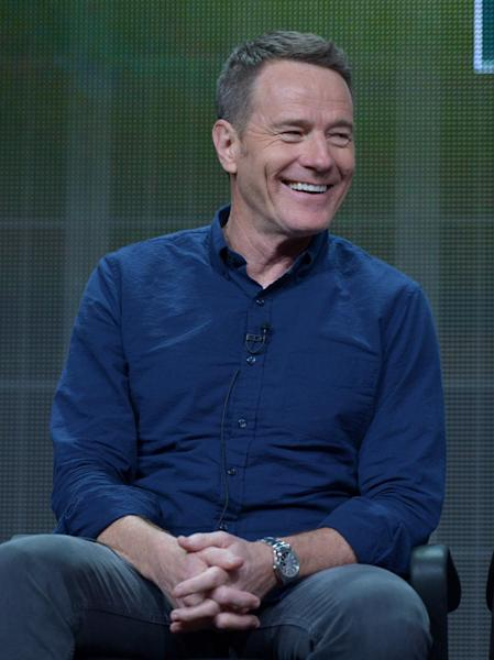 "FILE - This June 26, 2013 file photo released by AMC shows actor Bryan Cranston on the ""Breaking Bad"" panel at the AMC TCA Panel in Beverly Hills, Calif. Cranston will star as blacklisted screenwriter Dalton Trumbo in a film that will be his first after wrapping ""Breaking Bad."" A publicist for Cranston confirmed the casting Thursday, Sept. 19. The film, ""Trumbo,"" is to be directed by ""Meet the Parents"" filmmaker Jay Roach from a script by John McNamara. (Photo by John Shearer/Invision for AMC/AP Images)"