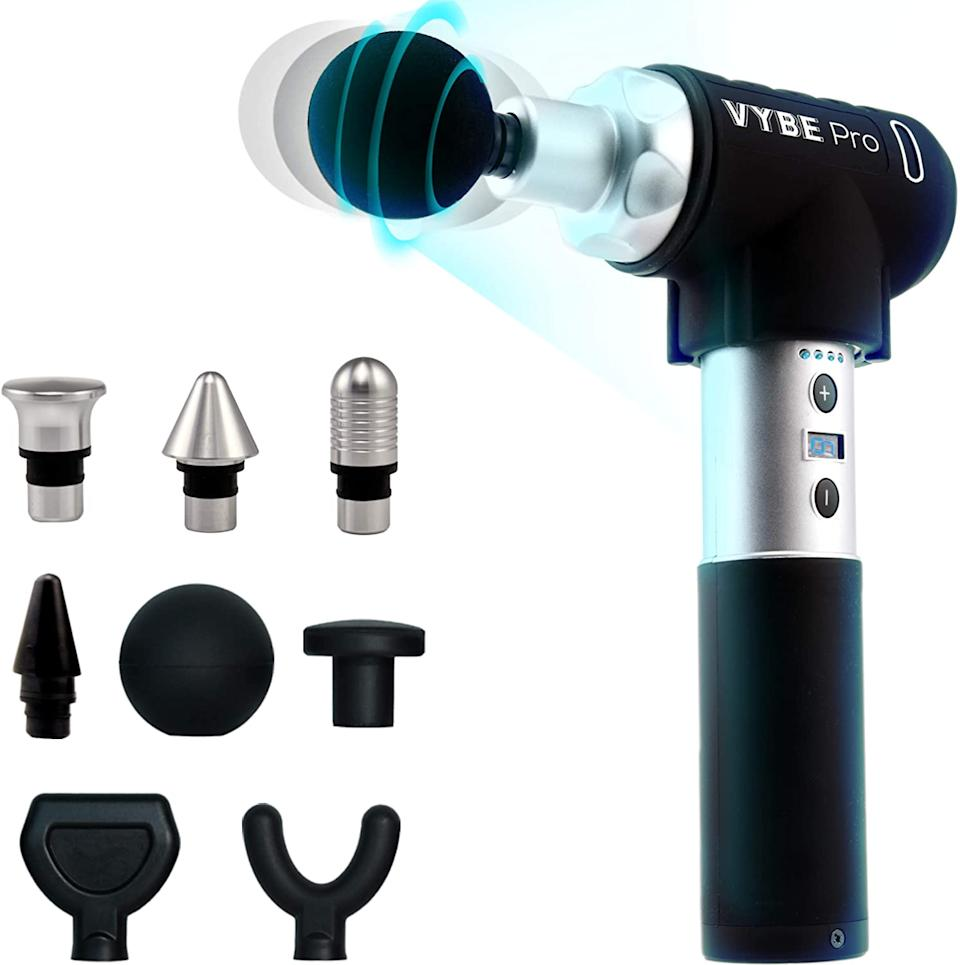 Pick your fix: The Vybe Pro has eight attachments and seven settings to get you back in action. (Photo: Amazon)