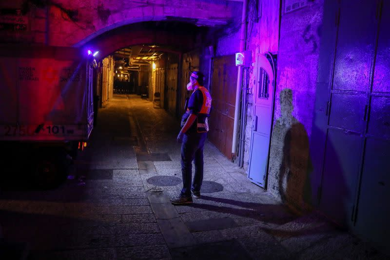 Shooting incident in Jerusalem's Old City