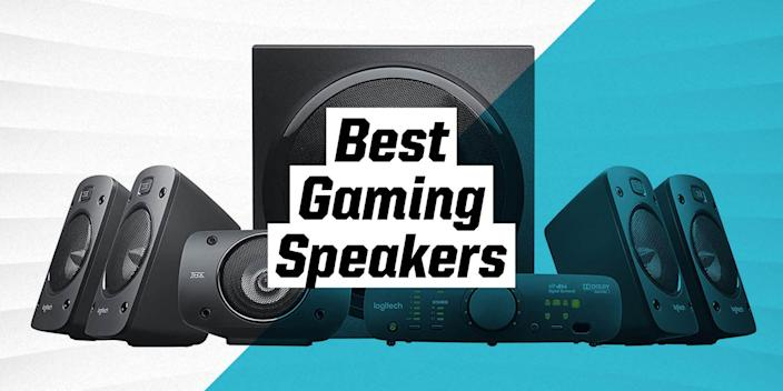 """<p>As much as we love a quality pair of <a href=""""https://www.popularmechanics.com/technology/gadgets/g2569/best-noise-canceling-headphones/"""" rel=""""nofollow noopener"""" target=""""_blank"""" data-ylk=""""slk:headphones"""" class=""""link rapid-noclick-resp"""">headphones</a>, sometimes our ears deserve a rest. At the same time, we don't want to lose out on high-fidelity audio, whether we're watching TV, listening to music, or playing the latest games. Especially for gaming, good audio can be a huge difference maker, both in creating immersion and beating the competition.</p><p>That's why we've put together a selection of great speakers, so you can bring your A-game without your grade-A headphones. </p><h3 class=""""body-h3"""">What to Consider</h3><p>Any good set of speakers will make built-in audio from laptops, monitors, or television sets feel like toys. But when investing in a great set of speakers, there are some considerations to be made. Three major things to focus on are sound, connectivity, and space. Whatever your needs are, it's crucial that your new speakers fit in your space, sound great, and connect to all the devices you are going to use. Most speakers connect via USB, Bluetooth, or 3.5mm, so make sure the speakers you get are compatible with your setup.</p><h3 class=""""body-h3"""">How We Selected</h3><p>We strive to rigorously test every product we recommend. For those products we can't test ourselves, we perform intensive research, reviewing content from expert sources like <em>PC Gamer, PCMag, PCGamesN, TechRadar, Digital Trends, Soundguys</em>, and others, as well as thousands of consumer reviews from online storefronts on Amazon, Best Buy, and Walmart. As for the products themselves, we evaluated them on sound quality, features, design, accessibility, and cost.</p>"""