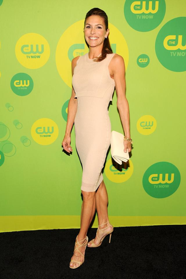 NEW YORK, NY - MAY 16:  Actress Paige Turco attends The CW Network's New York 2013 Upfront Presentation at The London Hotel on May 16, 2013 in New York City.  (Photo by Ben Gabbe/Getty Images)
