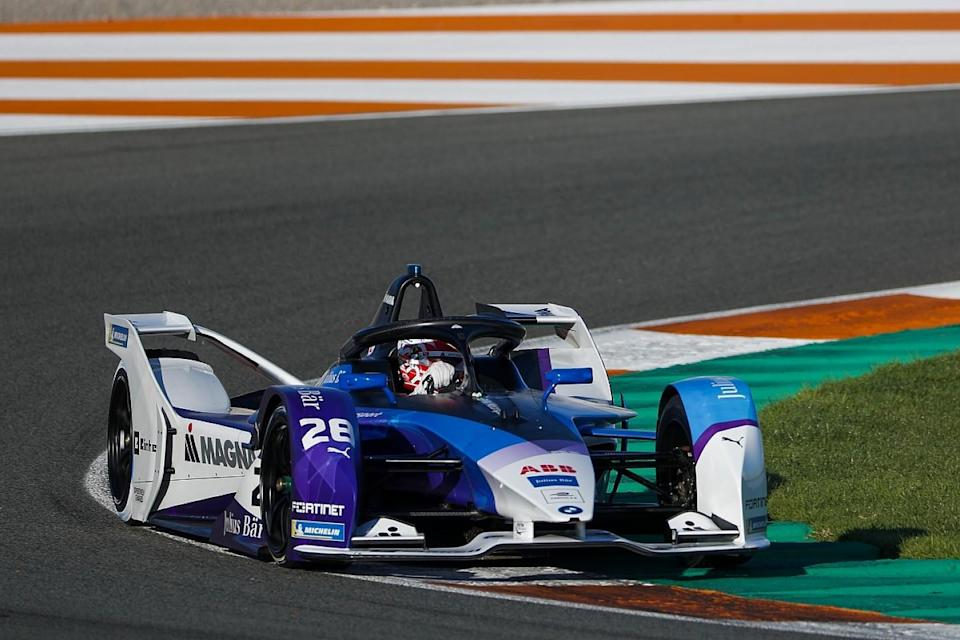 Guenther tops FE Valencia test after final day
