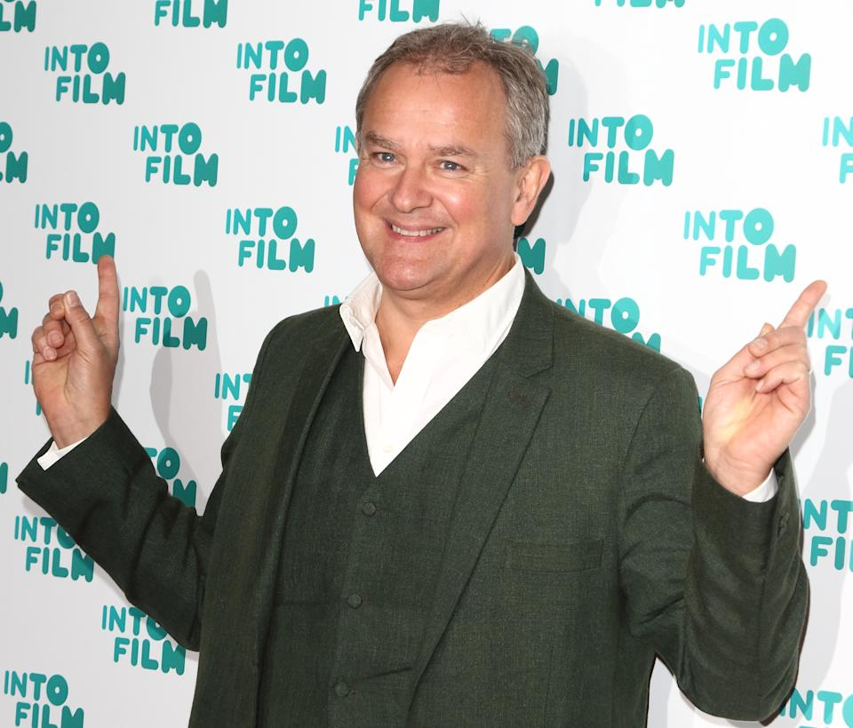 Hugh Bonneville seen during the Into Film Awards 2019 at the Odeon Luxe cinema, Leicester Square in London. (Photo by Keith Mayhew / SOPA Images/Sipa USA)