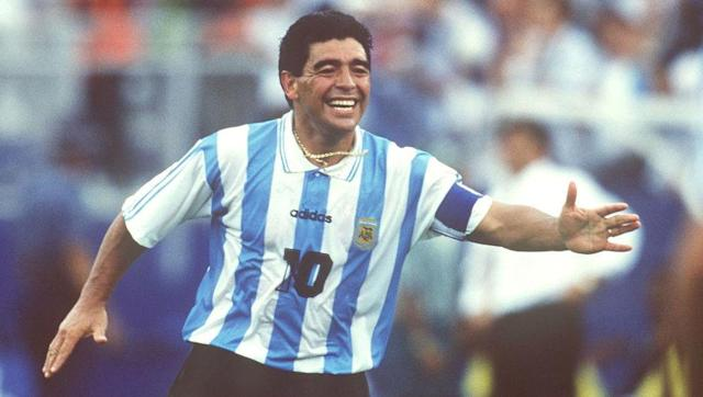 <p>Diego Maradona admitted to have started using cocaine when he arrived at Barcelona in the early 1980s and would later evade getting caught at Napoli by using a fake penis and someone else's clean urine to submit to drugs testers.</p> <br><p>The 1986 World Cup winner eventually did fail a test in 1991, though, and was banned for 15 months as a result of his addiction. He returned to football after serving the suspension but was later thrown out of the 1994 World Cup after failing a doping test.</p>
