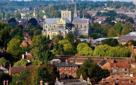 Winchester Cathedral - Credit: Chris Caldicott