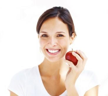 """<div class=""""caption-credit""""> Photo by: istockphoto</div><div class=""""caption-title""""></div><b>Chase Wine or Coffee With Whitening Foods</b> <br> Crunchy foods, including apples, celery, and carrots, act like little toothbrushes when you chew them, and they help scrub away stubborn stains over time. The cleansing effect on your teeth may be noticeable - if ever so slightly - especially if you're a coffee drinker who wasn't eating apples every day to begin with. The mildly acidic nature and astringent quality of apples, combined with their rough, fibre-rich flesh, makes them the ideal food for cleansing and brightening teeth. <br> <ul>   <li>  <a rel=""""nofollow"""" href=""""http://wp.me/p1rIBL-1OT"""">Read Food Labels for a Healthier Heart</a>   </li> </ul> <br>"""