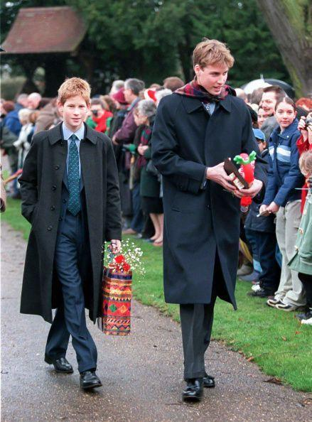 <p>Prince Harry and Prince William attend Christmas Day service at Sandringham Church.</p>